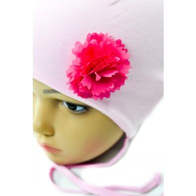 Detská čiapka - ruža