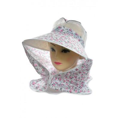 Dámsky klobúk so šiltom a sieťkou