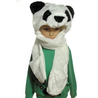 Čiapka dámska - medveď ladový PANDA