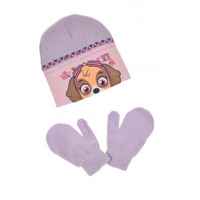 Komplet - čiapka a rukavice Paw Patrol