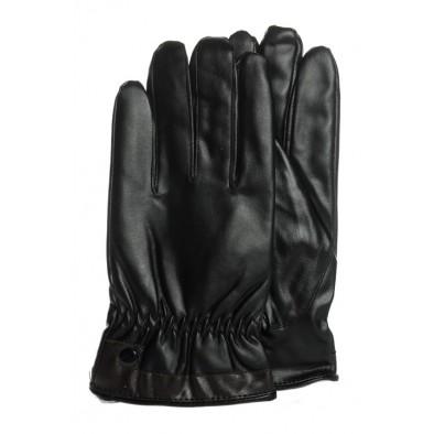 Pánske koženkové rukavice, 6-J6390