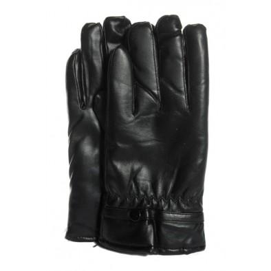Pánske koženkové rukavice, 6-J6391
