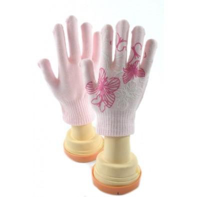 Dievčenské rukavice - motýle