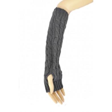 Dámske dlhé bezprstové rukavice