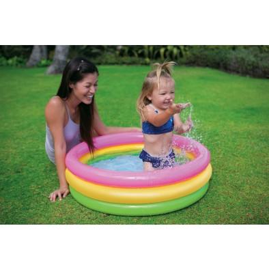 Dúhový BABY bazén 86cm