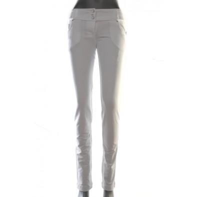 Nohavice dámske - biele, 7-2025