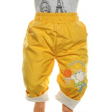 Detské zateplené nohavice - šušťáky