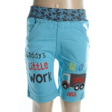 Krátke nohavice pre bábätká - nákladiak