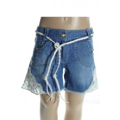 Detské šortky - krajka