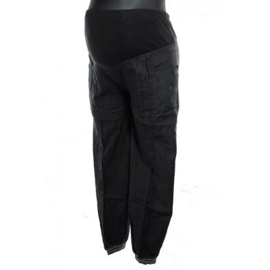 Damske elegantné tehotenské nohavice, 7-8200