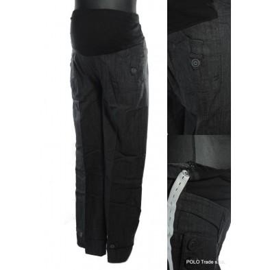 Damske elegantné tehotenské nohavice, 7-8204