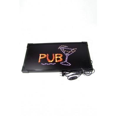 LED svietiaca reklama - PUB
