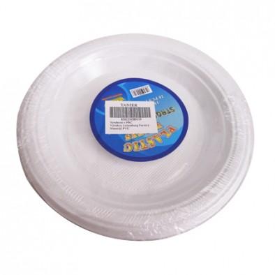 Dvadsať plastových tanierov, C-7-8931