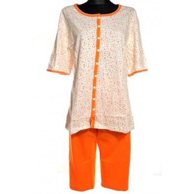 Dámske pyžamo - kvety, 9-2092