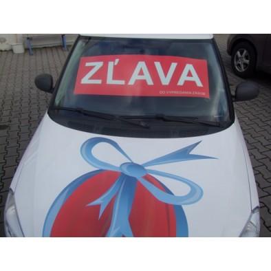 Reklamný pútač ZĽAVA - 2ks