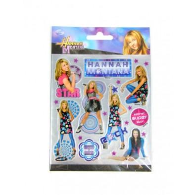 Nálepky Hannah Montana, metalické