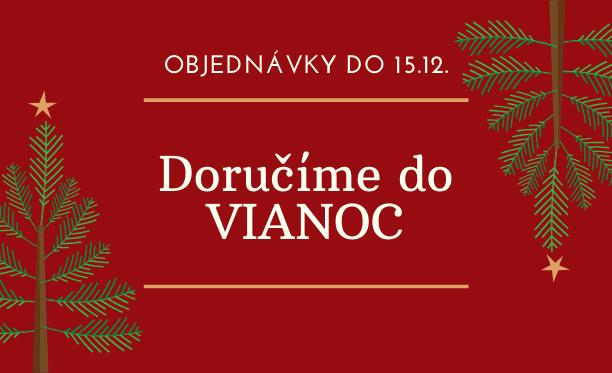 Garantované doručenie do Vianoc pri objednávkach do 15.12. (vrátane)