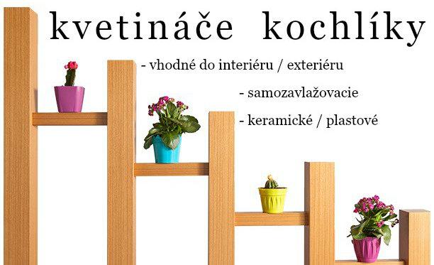 Kvetináče vázy konvice