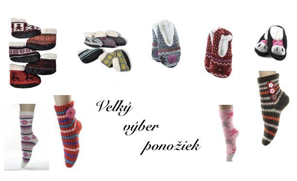 Veľký výber ponožiek